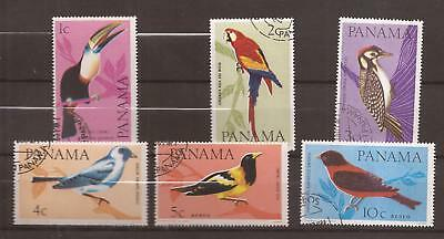PANAMA  -  1965  -  COMPLET SET  -  Birds