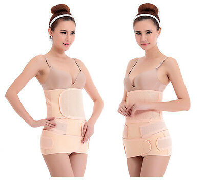 3 IN 1 Postpartum Wrap Recovery Belt Post Pregnancy Girdle women Silmming belt