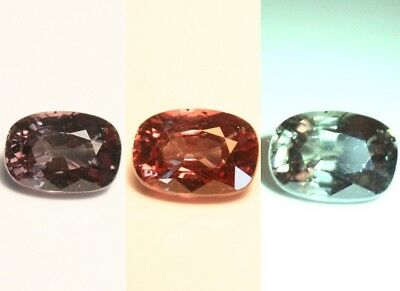 1.07ct Colour Change Garnet - Custom Cut Gem with Rare Superb Colour Change