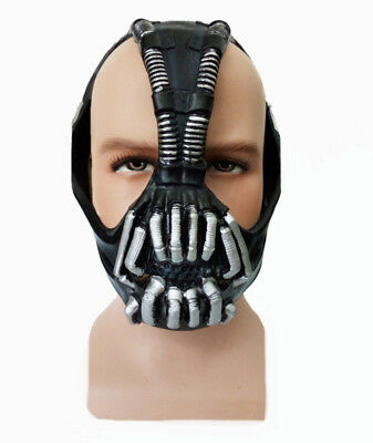 Deluxe Bane Mask Halloween Batman Dark Knight Rises Costume Mask  sc 1 st  PicClick UK & BANE BATMAN DELUXE Dark Knight Rises Halloween Joker Fancy Dress ...