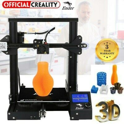 Creality3D CR-X Impresora 3D Printer Prusa DIY Kit Alta Precisión 300x300x400mm