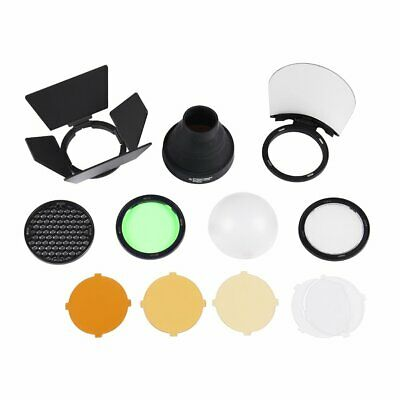 Godox AK-R1 Super Accessory Kit Honeycomb Snoot Diffuser Filters For AD200 H200R