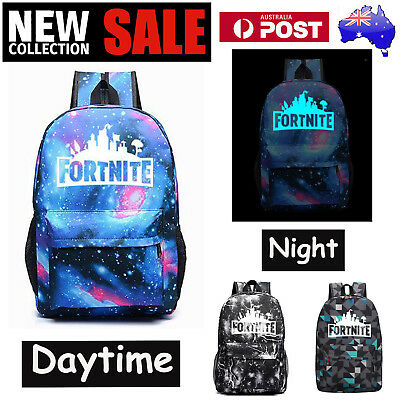 Boys School Bag Fortnite Battle Royale Rucksack Student Backpack Hiking Camping