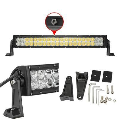 22inch 120W LED Work Light Bar Spot/Flood Combo for Truck SUV Jeep Off-Road