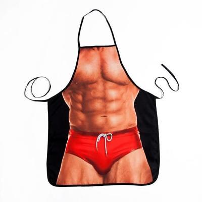 Man Brief Humorous Apron for bathing T2D6