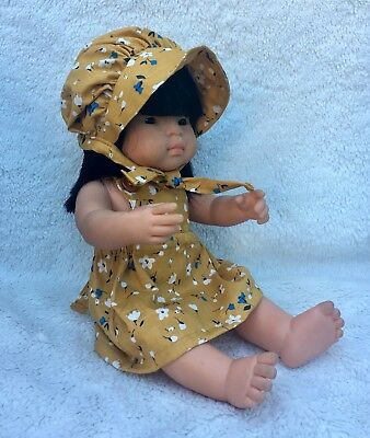 Doll Outfit For Miniland 38cm