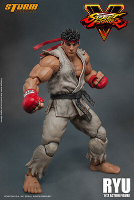Street Fighter Ryu Storm Collectibles Figur Figur Neu Capcom Pre-Order
