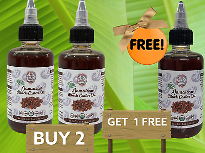 200ml Get a FREE 100ml refill with 100ml bottle-JAMAICAN BLACK CASTOR OIL