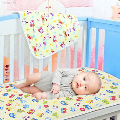 F6C6 Baby Infant Diaper Nappy Urine Mat Blanket Bedding Changing Pad 30*45cm
