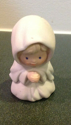 VTG 1986 Avon Heavenly Blessings Nativity Mary Shepherd Figurine Christmas