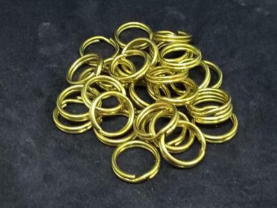 13mm brass split/key rings/holders/loops High Quality choose quantity