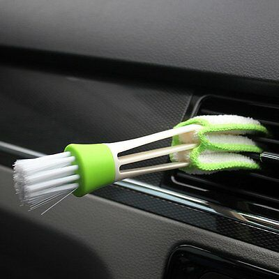 1pcs Universal Mini Clean Car Indoor Air-condition Brush Tool Cleaner Duster