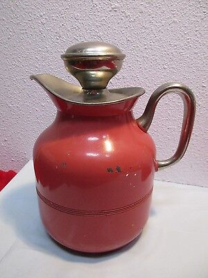 """Thermos Icy Hot Bottle Co 950NS Carafe 7"""" Cork Vintage Antique"""