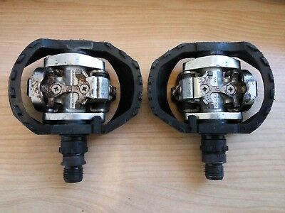 Shimano SPD Double Sided MTB Mountain Bike Pedals PD-M424