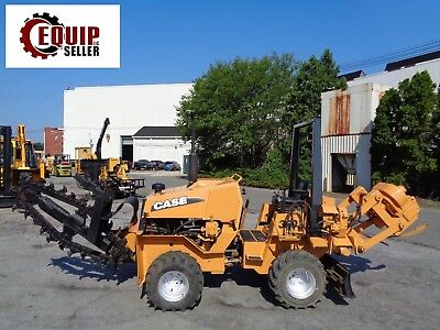 Case 360 Articulating Trencher - Cable Plow - Dozer - Diesel - 4x4