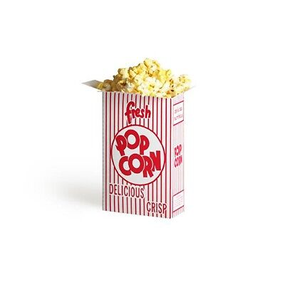 50 Movie Theater Popcorn Boxes .75 Ounce Box Concessions Vending GNP Brand New