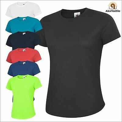 Uneek UC316 Women's Ultra Cool Breathable T-shirt Work Active Sports Leisure Gym
