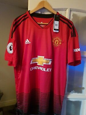 manchester united home shirt 2018
