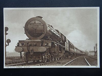 LMS London Midland Scottish Railway LOCO No.6209 THE ULSTER EXPRESS Old Postcard