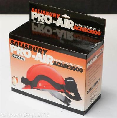 One New Salisbury Acair3000 Hard Hat Cooling System ! Workflow Ac Air 3000