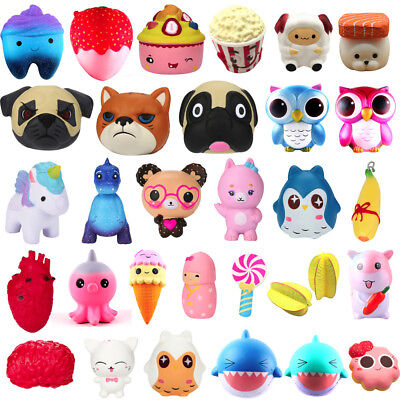 Lot Exquisite Kawaii Poo Scented Squishy Charm Slow Rising Simulation Kids Toy R