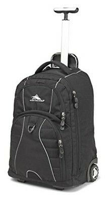High Sierra Freewheel Wheeled Laptop Backpack Great for High School College