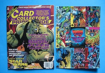 CARD COLLECTORS PRICE GUIDE - #30 - OCT. 1994 - Promo Sheet included