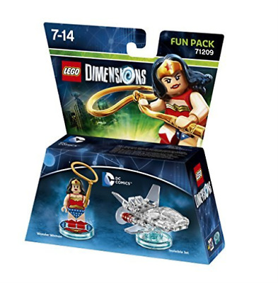 Toys-Lego Dimensions: Fun Pack - DC Wonder Woman /Video Game Toy GAME NUEVO
