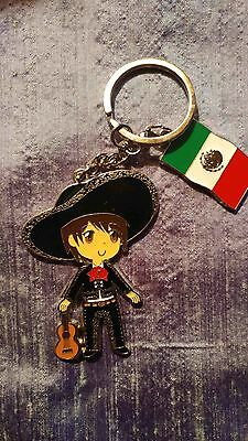 Fresh From Mexico! Cute Mexican Keychain! Free Shipping