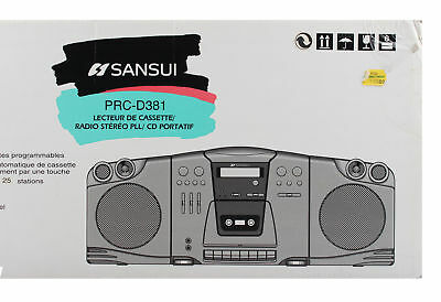 Sansui Radio/CD/Kassette Player Neu