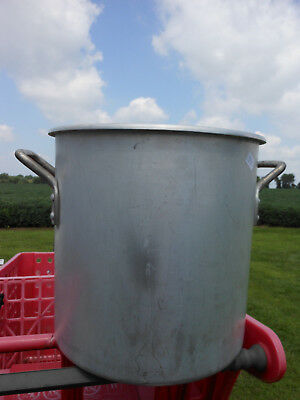 Vintage Wear-ever Aluminum 24 Quart 4306 Crab Boil Stock pot - no lid