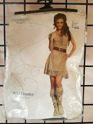 B NEW Adult Underwraps Wild Frontier Halloween Costume Size S
