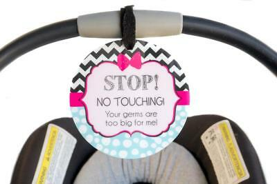 Girl Zig Zag Tag - Stop! No Touching! Your Germs Are Too Big For Me!