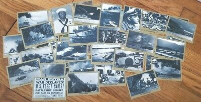 Remember Pearl Harbor WW2 / WWII Cards - 44 Cards