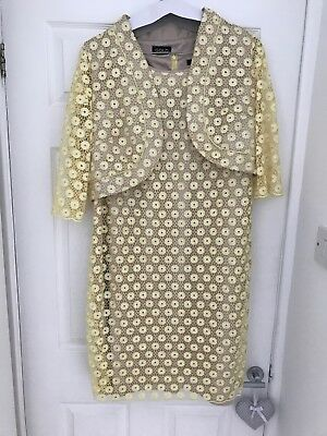 mother of the bride dress and jacket size 16 Cost £600