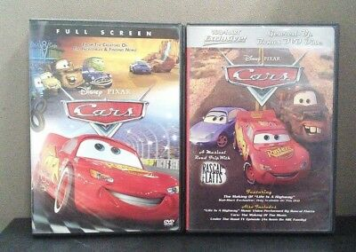 Authentic Disney: Cars    (Walmart Exclusive 2 DVD Set)       LIKE NEW