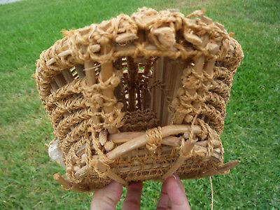 Oceana Marshall Island Hand Knotted Bamboo Eel/fish Trap Museum Piece!