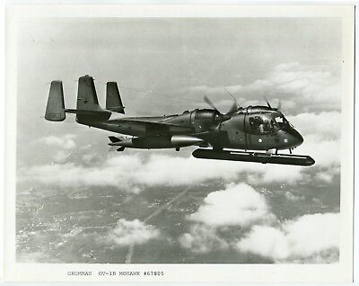 U.S. Army OV-1B Mohawk Airplane Official Vintage Grumman Aircraft Photograph
