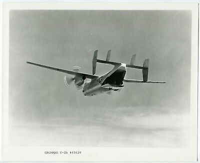 U.S. Navy C-2A Greyhound Airplane Official Vintage Grumman Aircraft Photograph