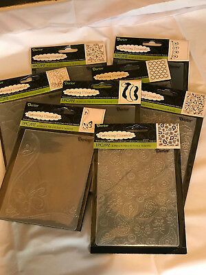 PRICED TO SELL NOW -  CLOSEOUTS - Darice Embossing Folders