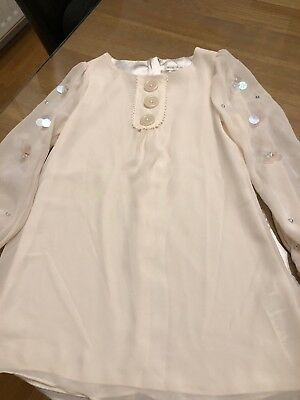 Girls Marks And Spencer Autograph Dress Age 6 Excellent Condition