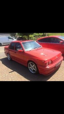 Ford Orion 1.6i GHIA factory bodykit 9 months mot, big history file, like escort
