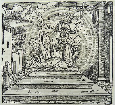 1532 Hans Weiditz - Master Woodcut - Prophecy of an Early Death - [1560]
