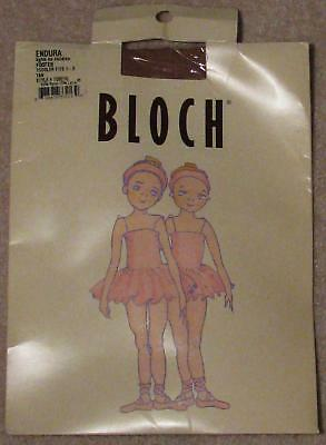 Bloch ~ Endura Tights For Children Footed Tan Toddler Fits 1-3 Dance, Gymnastics