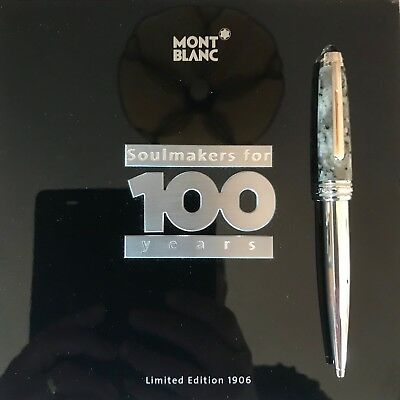 Montblanc Soulmakers for 100 Years Limited Edition 1906 Granite Ballpoint Pen