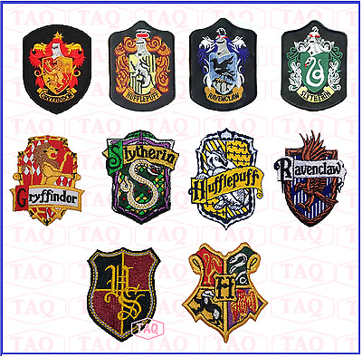 Harry Potter Patch Thermocollant Gryffindor Serpentard Poufsouffle Serdaigle