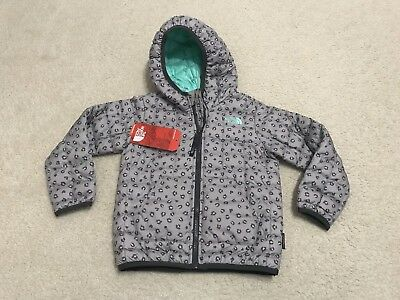 NWT The North Face Toddler Thermoball Hoody Puff Jacket Girls 3T $99 Cheetah