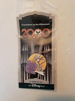 New Disney Countdown to the Millennium Pin 72 Nightmare Before Christmas