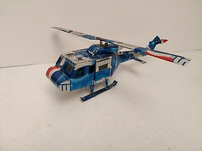 "Pepsi Cola Soda cans Huey Helicopter Handmade 11"" Long  Tin/Aluminum Art"