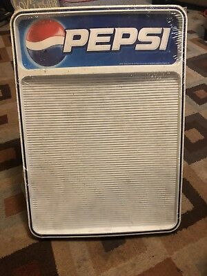 Pepsi Menu Board Advertising Sign/Menu NEW!!!